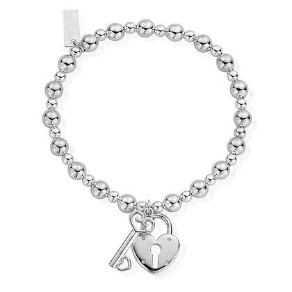 Chlobo lock and key bracelet