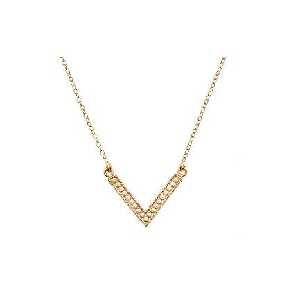 Anna Beck Arrow Necklace Gold