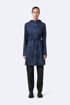 Rains Curve Jacket - Blue