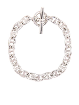Tilly Sveaas Anchor Bracelet - Silver