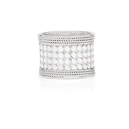 Anna Beck Classic Band Ring - Silver