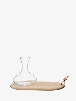 LSA Carafe and Oak Cheese Board