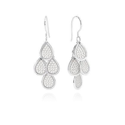 Anna Beck Chandelier Earrings - Silver