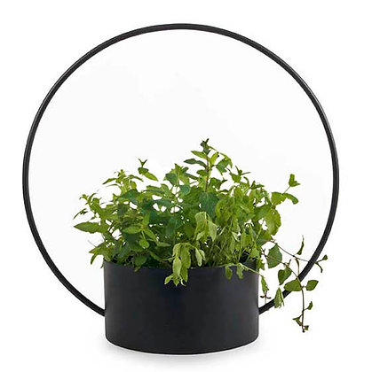 O - Collection Black Planter - Large