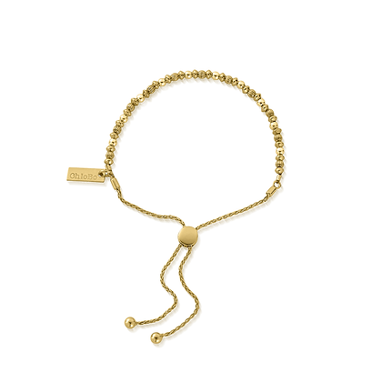 Chlobo Mini Pumpkin Adjuster bracelet - Gold