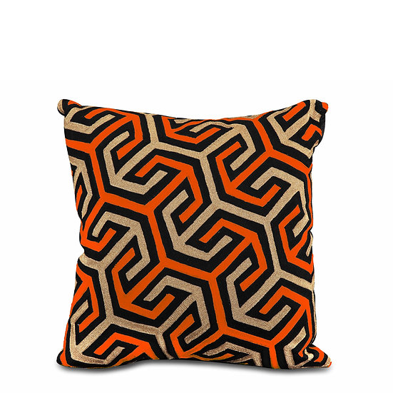 The Orange Arrow Cushions