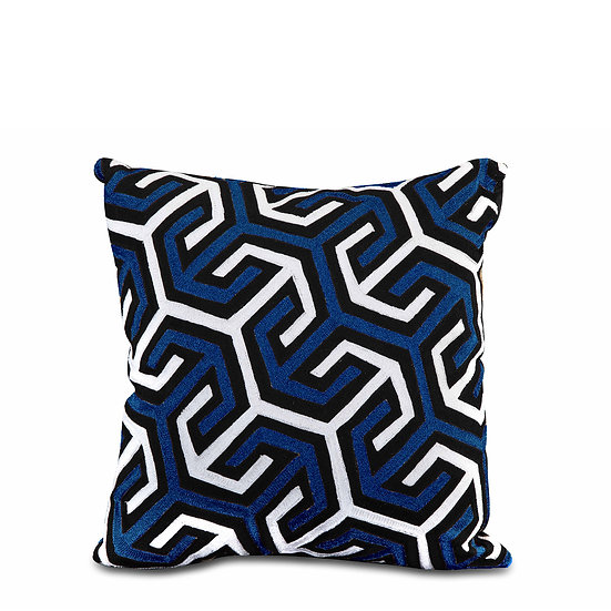 The Blue Arrow Cushions
