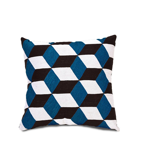 The Blue Diamond Cushions