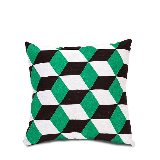 The Green Diamond Cushions