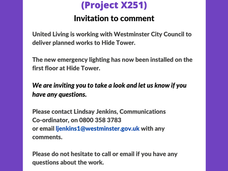 Residents | Have Your Say on New Lighting