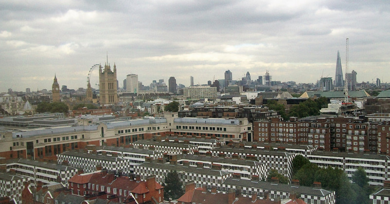 Views of London from Hide Tower