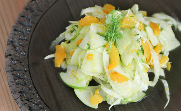 Fennel, Orange, and Green Apple Salad