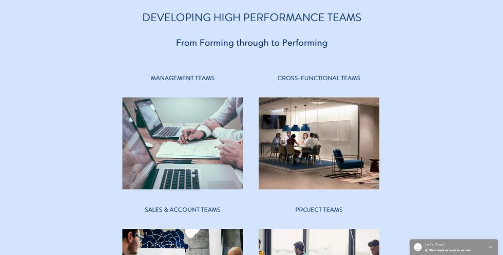Partners Team Development - Homepage 2