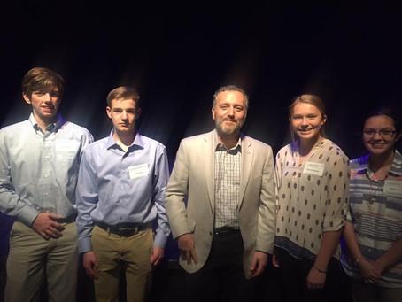 ACS Students Meet Author