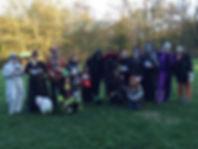 fête d'halloween au TCIN