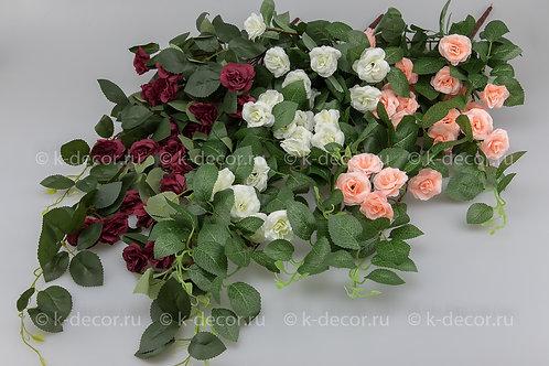 Ампельная кустовая роза Феерия