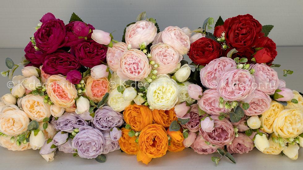Букет пионовидной розы Саманта new
