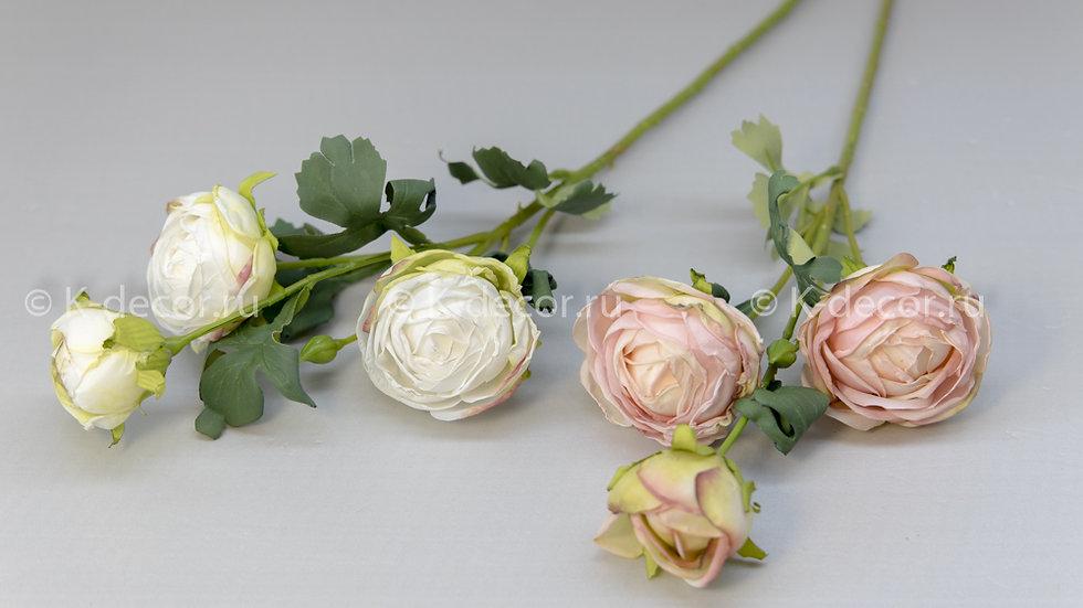 Ветка кустовая роза Севиль
