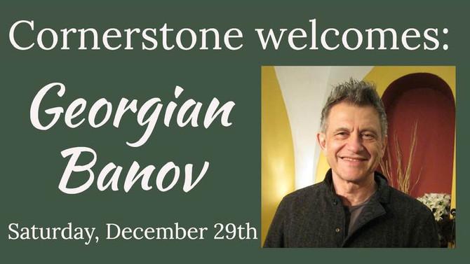 Audio: Special Guest Georgian Banov