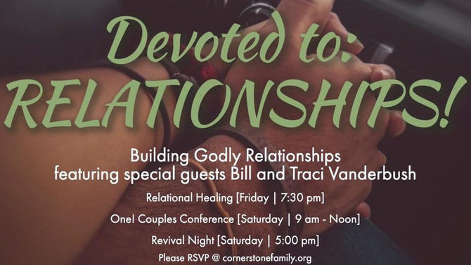 Audio: Celebrating Relationships! Revival!!