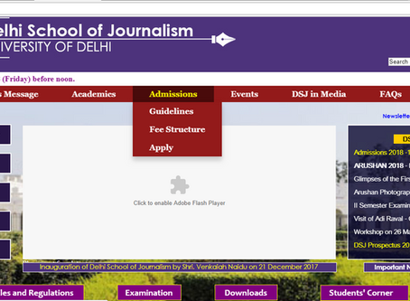 DUET Journalism Entrance Results To Be Declared This Week