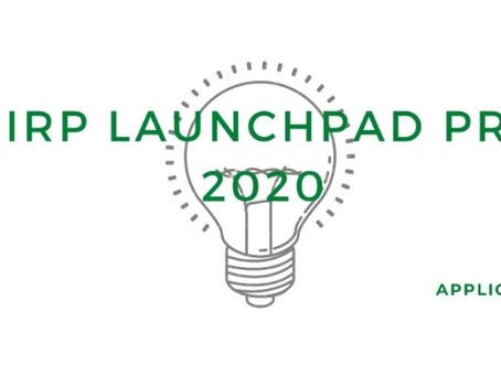 Ecochirp Launchpad Program 2020