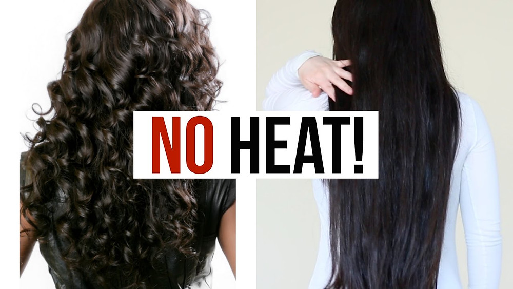 Image result for no heat to hair