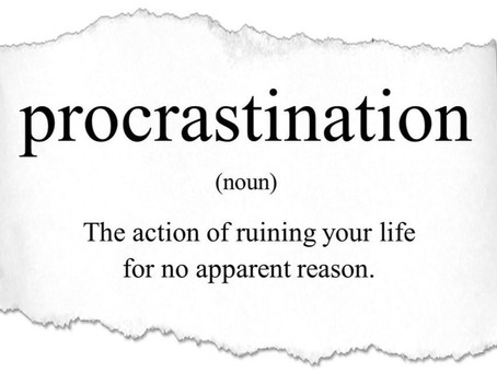 Don't Procrastinate Every Time,