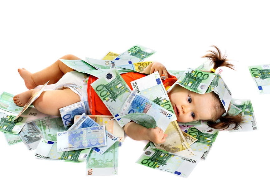 Image result for born in rich family