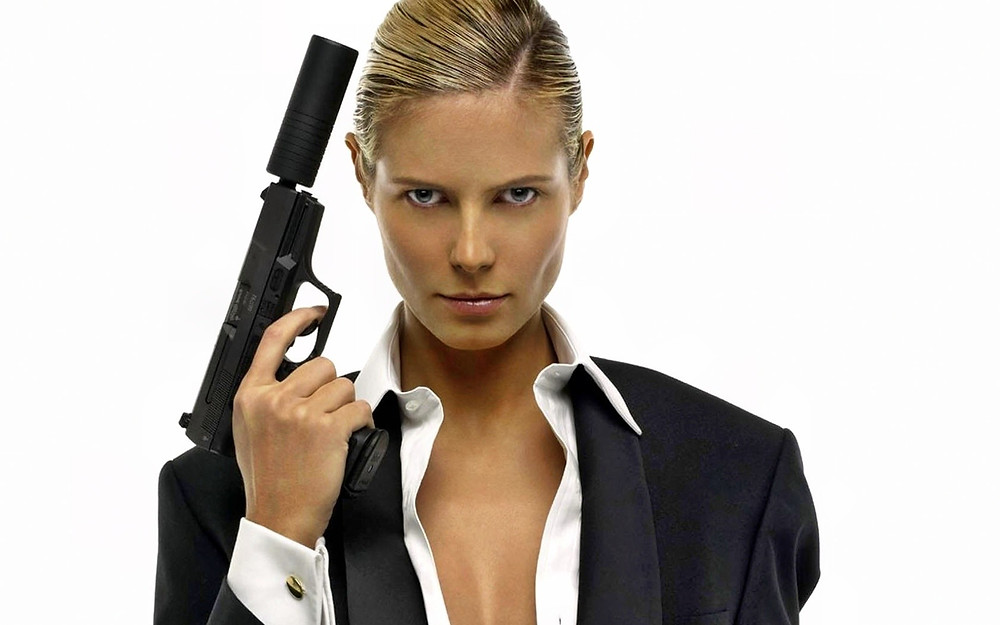 Image result for woman with gun