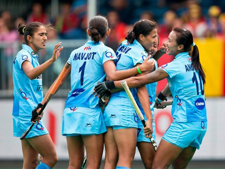 Indian Women's Hockey Team survives USA's Attack