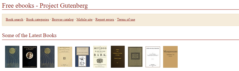 Project Gutenberg Informed sapiens