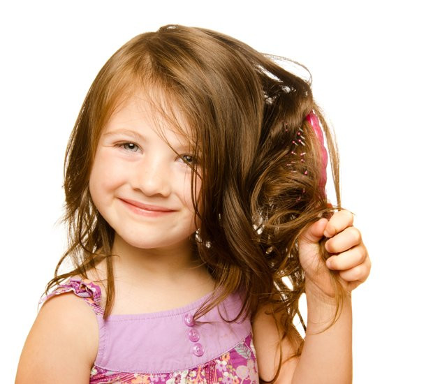 Image result for hair brushing