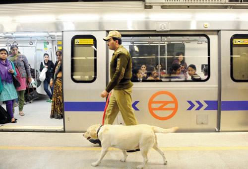 Image result for delhi metro police
