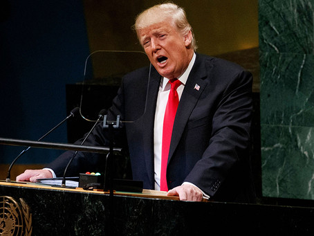 Trumps Speech At General Assembly, United Nations
