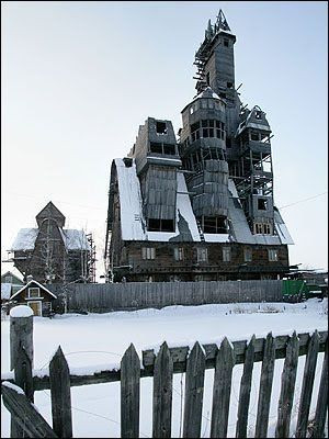 Image result for wooden gagster house russia