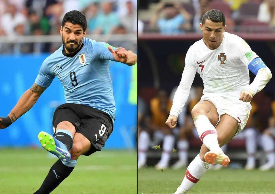 Image result for uruguay vs portugal