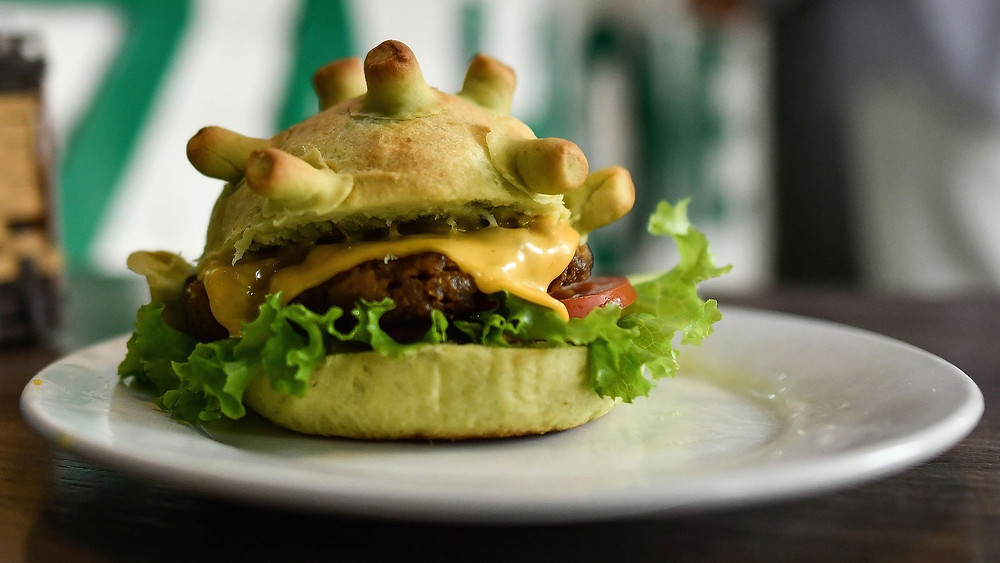 Corona Burgers Are The New Trend-Telugu Food And Diet News