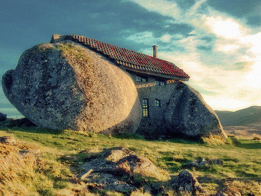 Image result for stone house portugal