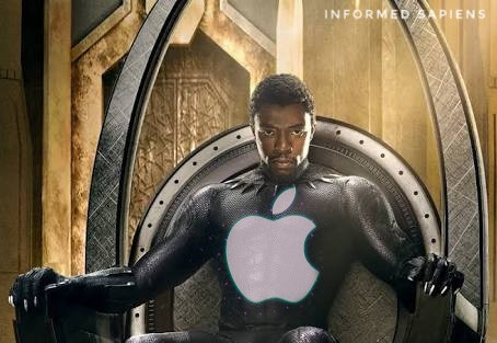 Apple is the new Black Panther in real World