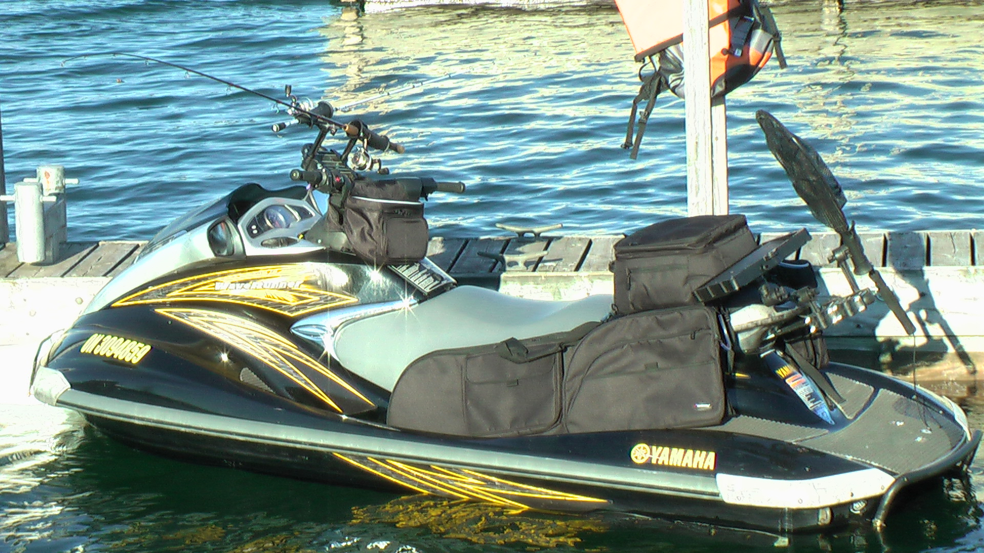 Yamaha waverruner fxho fishing