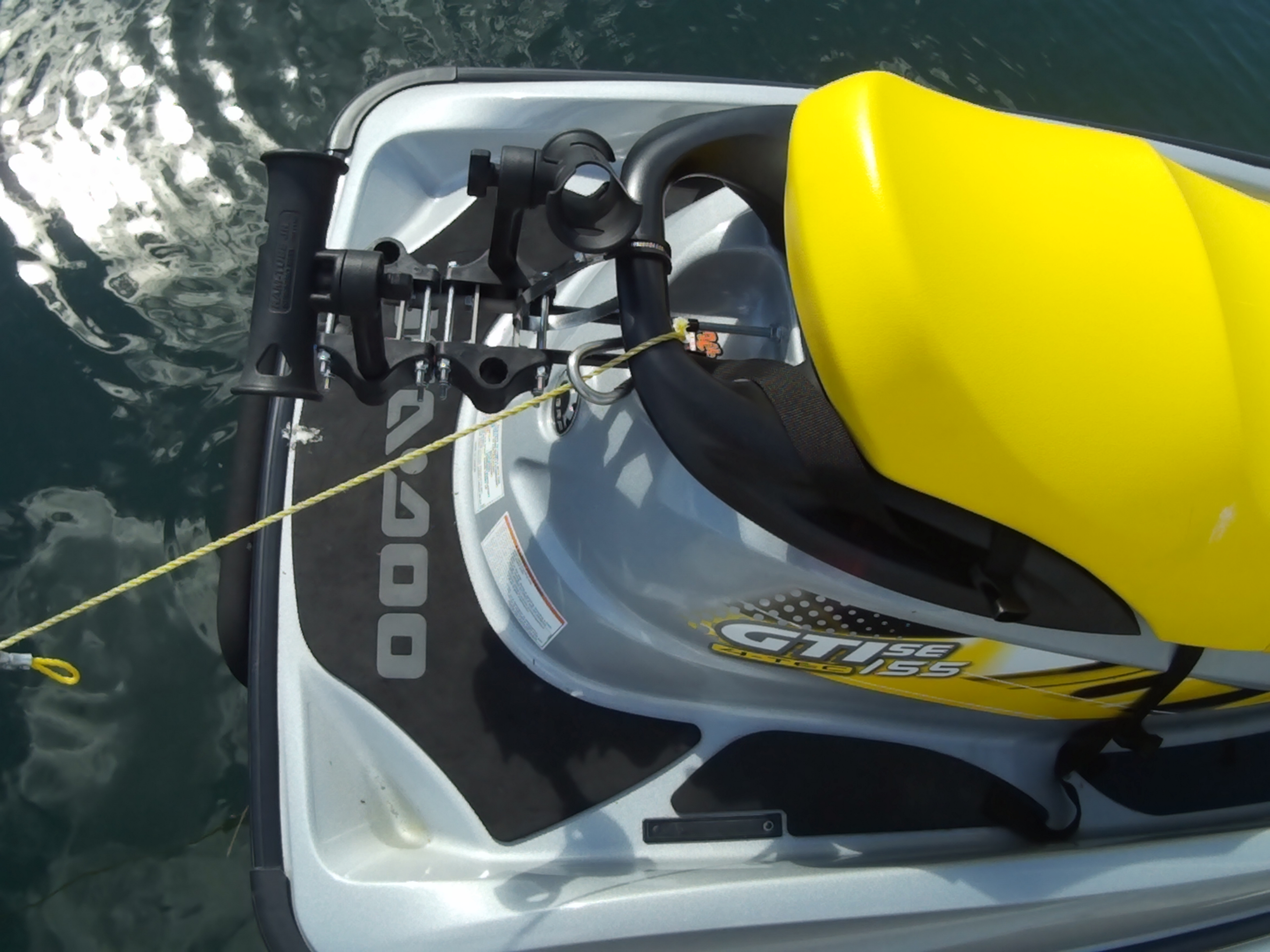 Seadoo GTI PWC fishing bracket