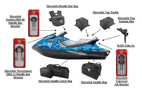 Maverick PWC fishing gear