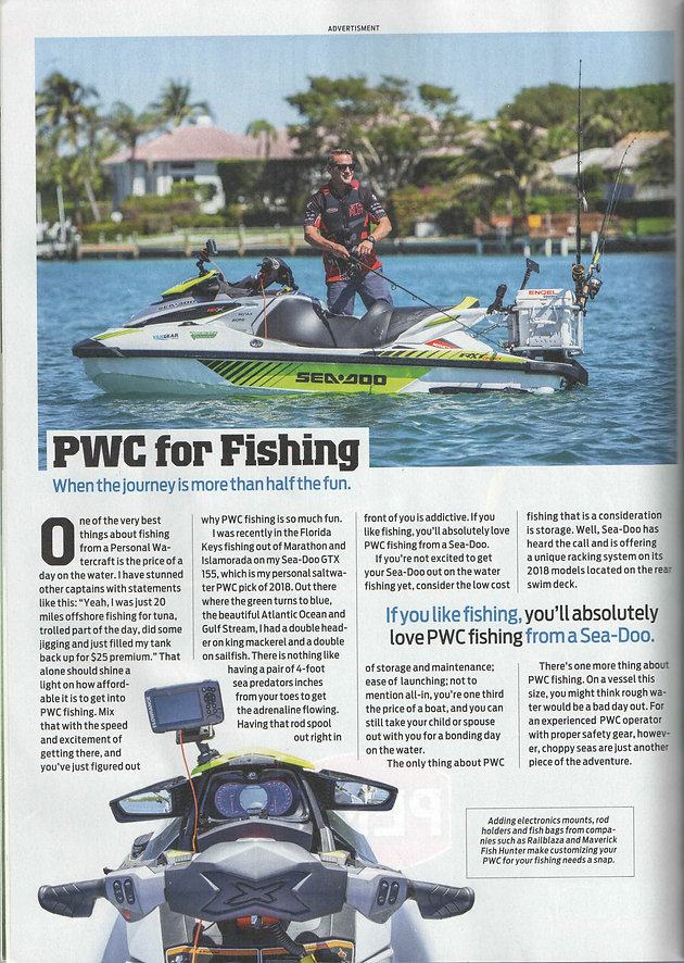 Florida Sportsman Seadoo | PWC Fishing | United States | Maverick