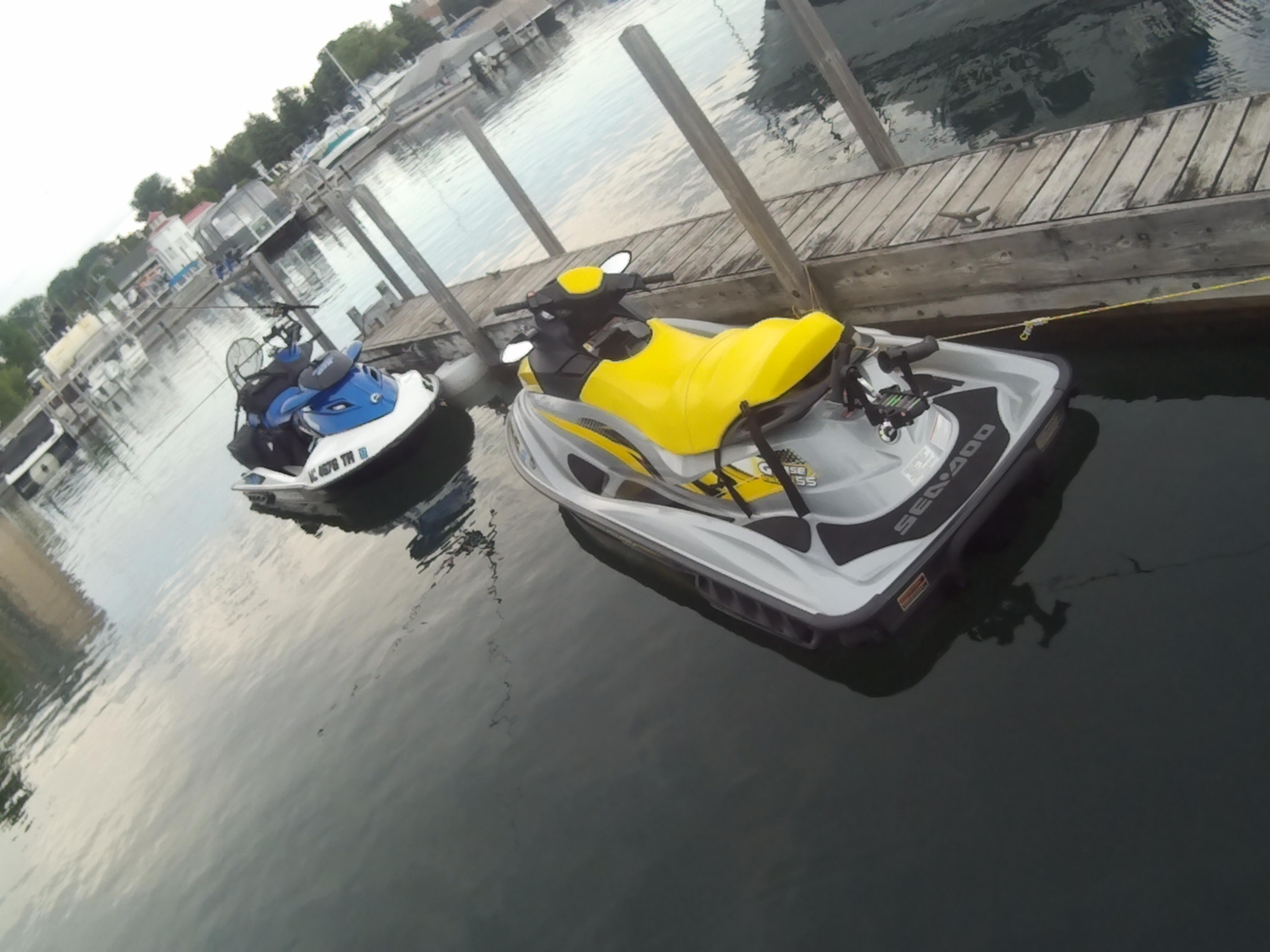 PWC Fishing Seadoo GTI