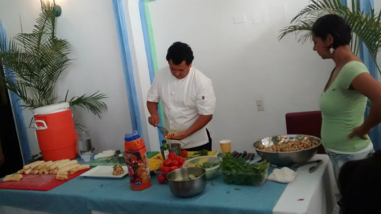 PREPARACION DE CEVICHE DE PLATANO MACHO-2A