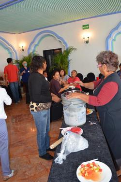 PREPARANDO HELADO ARTESANAL DE JAMAICA-5