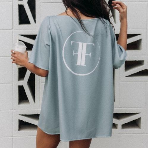 FALZON T-SHIRT DRESS