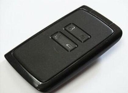 4 button key card for Renault Kadjar 434mhz PCF7961 4A chip 2013-