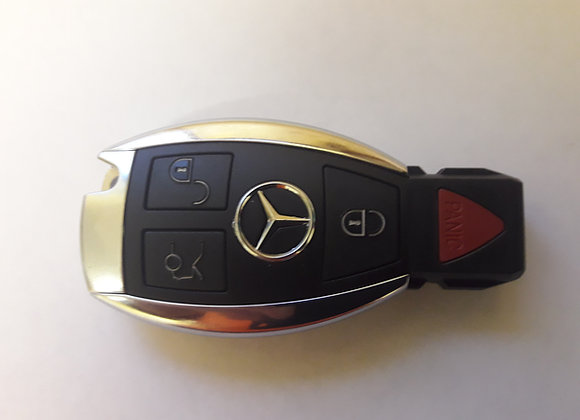 Mercedes-Benz 3 Button Remote Key Fob 433MHz for BGA & NEC FROM 2000-PRESENT